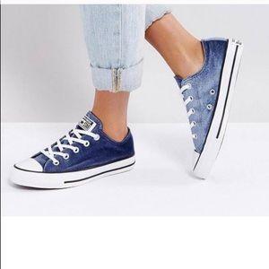 Velvet Blue Converse